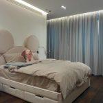 Дизайнерско легло с осветление в детска стая