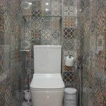 Елегантни плочки в тоалетна